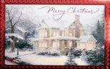 WENSKAART-Thomas-Kinkade-Merry-Christmas