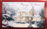 "WENSKAART Thomas Kinkade ""Merry Christmas""_10"