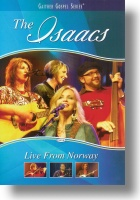 """DVD Isaacs """"Live From Norway"""""""