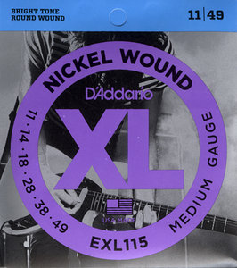 D'ADDARIO BLUES JAZZ ROCK ELECTRIC