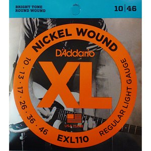 D'ADDARIO EXL110 ELECTRIC
