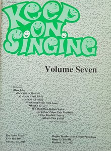 Keep On Singing Volume 7