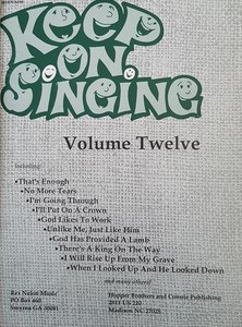 Keep On Singing Volume 12