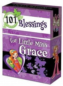 """BOX OF BLESSINGS """"101 Blessings for Little Miss Grace"""""""