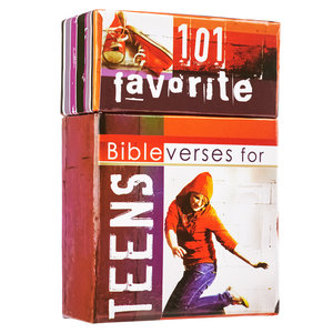 "BOX OF BLESSINGS ""Bible Verses For Teens"""