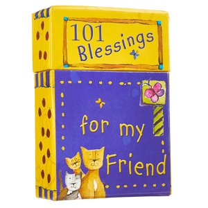 "BOX OF BLESSINGS ""101 Blessings For My Friend"""