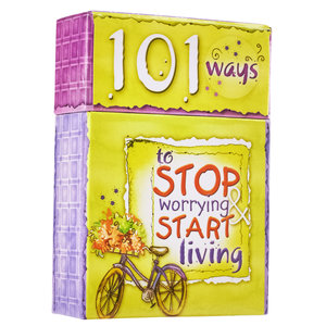 "BOX OF BLESSINGS ""101 Ways To Stop Worrying"""