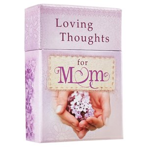 "BOX OF BLESSINGS ""Loving Thoughts For Mom"""
