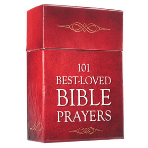 "BOX OF BLESSINGS ""101 Best-Loved Bible Prayers"""