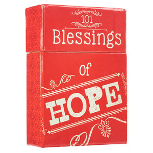 "BOX OF BLESSINGS ""101 Blessings Of Hope"""