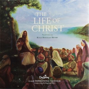 "WANDKALENDER ""The Life Of Christ"""