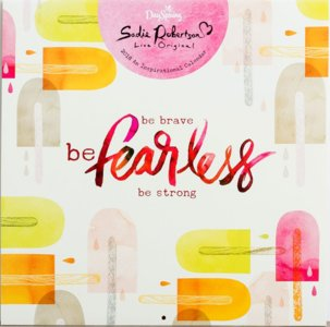 "WANDKALENDER ""Be Brave, Be Fearless, Be Strong"""