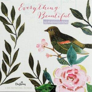 "WANDKALENDER  Stephanie Ryan ""Everything beautiful"""