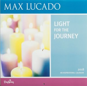 "WANDKALENDER Max Lucado ""Light for the Journey"""