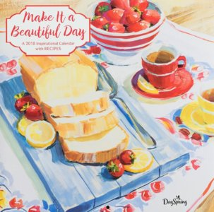 "WANDKALENDER ""Make it a Beautiful Day"""