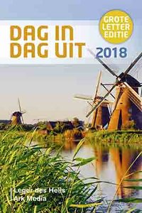 "DAGBOEK 2018 grote letter ""Dag in dag uit 2018"""