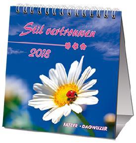 """KALENDER 2018 Fatzer """"Stil vertrouwen"""" SV"""