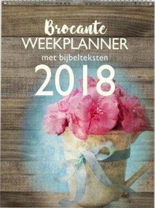KALENDER Weekplanner 2018 Brocante