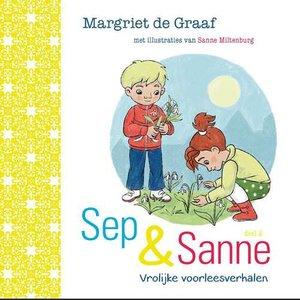 """KINDERBOEK Margriet de Graaf """"Sep en Sanne"""""""