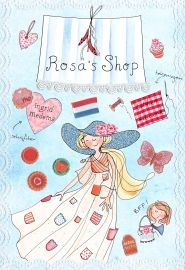 "KINDERBOEK Ingrid Medema ""Rosa's shop"""