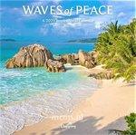 Waves of Peace - Wandkalender 2020 Large
