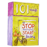 "Box of Blessings - ""101 Ways To Stop Worrying"""
