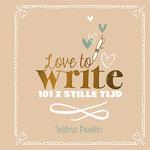 Love to Write - Creatief (dag)boek
