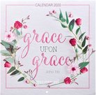 Grace Upon Grace - Wandkalender 2020 Large 25x25cm