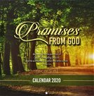 Promises from God - Wandkalender 2020 Large 25x25cm