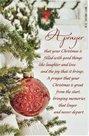 Kerstwenskaart met Bijbeltekst - A Prayer | mcms.nl