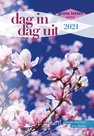 Dag in dag uit 2021 - dagboek grote letter editie | mcms.nl