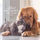 Love is Patient (1 Corinthians 13:4) - wandkalender small | mcms.nl