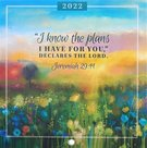 I Know The Plans (Jeremiah 29:11) - wandkalender 2022 small | mcms.nl