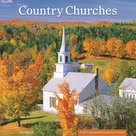 Country Churches - 2022 Standaard wandkalender large 30x30cm | mcms.nl