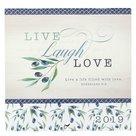 Live Laugh Love 2019 wandkalender small   MCMS.nl