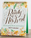 The Beauty Of His Word 2019 desktop kalender | MCMS.nl