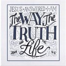 John 14:6 I Am The Way - Bemoedigingskaart | MCMS.nl