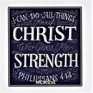 I can do all things (Phillipians 4:13) - Bemoedigingskaart | MCMS.nl