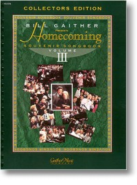 Homecoming Souvenir Songbook - Volume 3