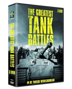THE GREATEST TANK BATTLES| Documentaire | WOII | 3 DVD BOX