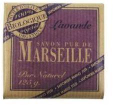 """Savon pur de Marseille Soap Bar """"Lavande"""""""