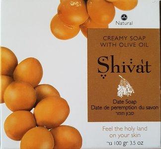 "Shivat Creamy Soap ""Dadels"" 100gram"