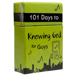 "BOX OF BLESSINGS ""101 Days to Knowing God for Guys"""