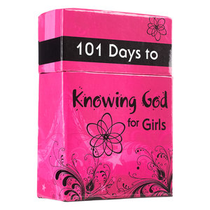 "BOX OF BLESSINGS ""101 Days to Knowing God for Girls"""