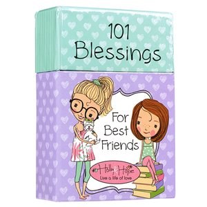"BOX OF BLESSINGS ""101 Blessings For Best Friends"""