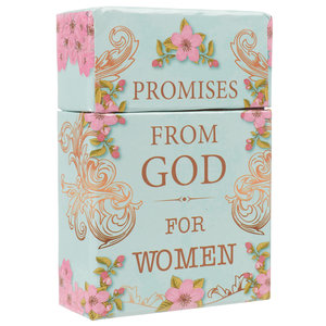 "BOX OF BLESSINGS ""Promises From God For Women"""