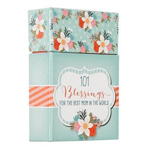 """BOX OF BLESSINGS """"101 Blessings For The Best Mom"""""""