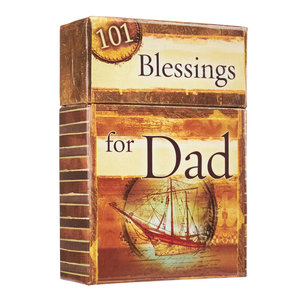 """BOX OF BLESSINGS """"101 Blessings For Dad"""""""