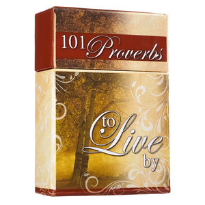 "BOX OF BLESSINGS ""101 Proverbs to Live By"""