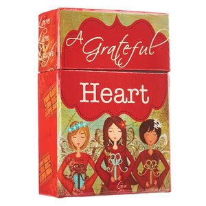 "BOX OF BLESSINGS ""A Grateful Heart"""